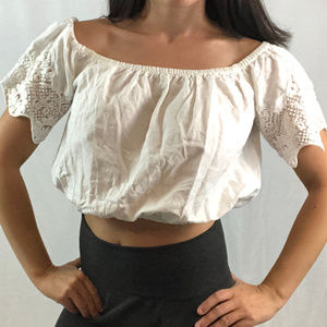 ZARA | White Crop Top from Zara basis XS